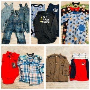 5 LB Baby Boy Bundle 6-9 Month Clothes Lot Spring